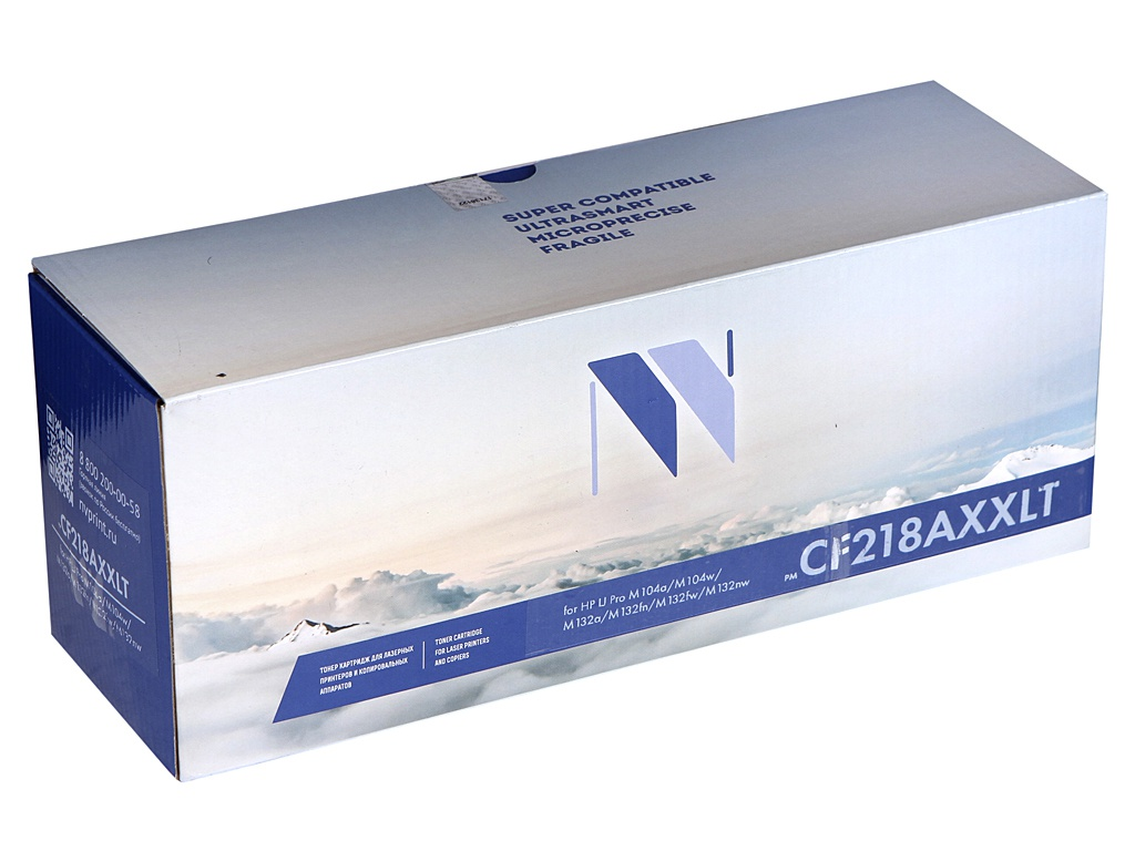 Картридж NV Print (схожий с HP CF218A) для LaserJet Pro M104a/M104w/M132a/M132fn/M132fw/M132nw NV-CF218AXXLT