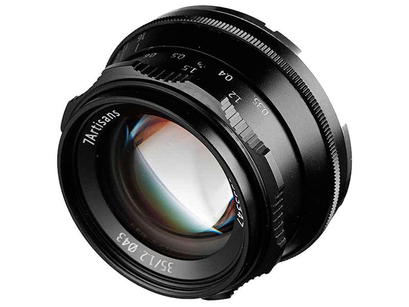 Фото - Объектив 7Artisans Micro 4/3 35 mm f/1.2 Black 18001 объектив
