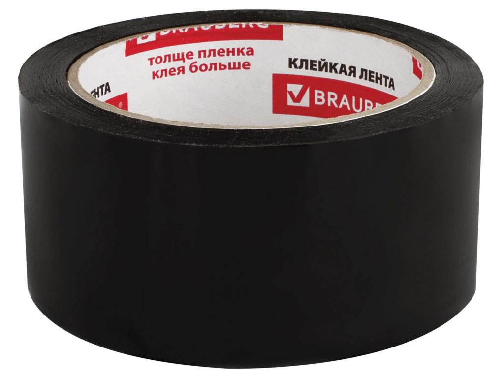 Клейкая лента Brauberg 48mm x 66m Black 440155
