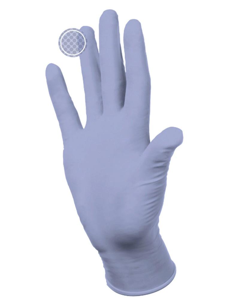 Перчатки нитриловые Dermagrip Ultra смотровые 10