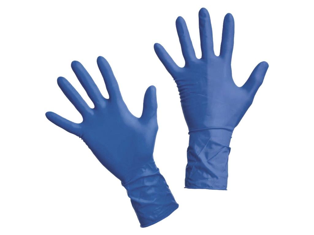 Перчатки латексные Dermagrip High Risk неопудренные, смотровые, сверхпрочные 2
