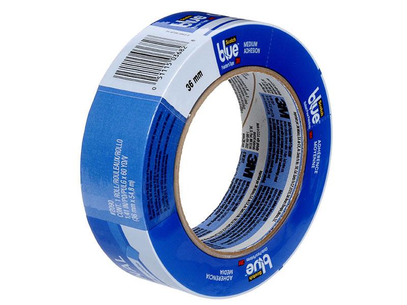 Маскирующая лента 3M ScotchBlue 2090-36 36mm x 54.8m 7100118754