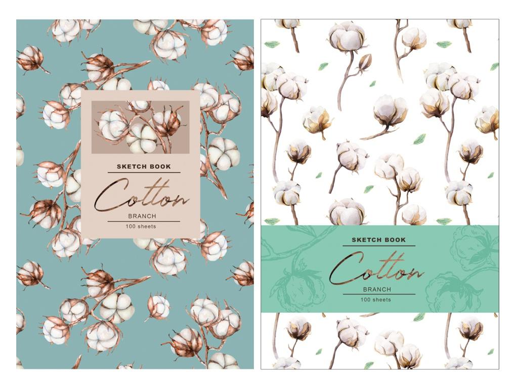 Скетчбук BG Cotton А5 100 листов С5т100_лм 8157