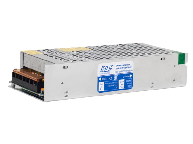 Блок питания ELF 24V 150W ELF-24E150BEmini-G