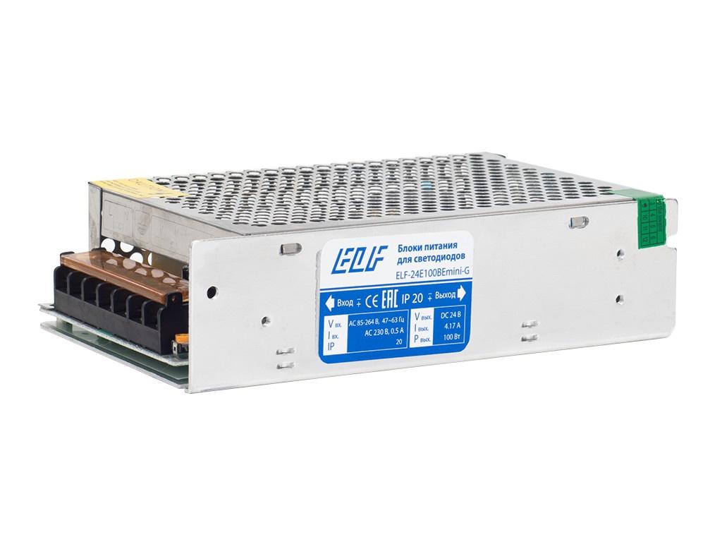 Блок питания ELF 24V 100W ELF-24E100BEmini-G