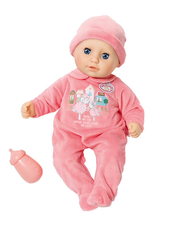 Кукла Zapf Creation Baby Annabell с бутылочкой 702-550