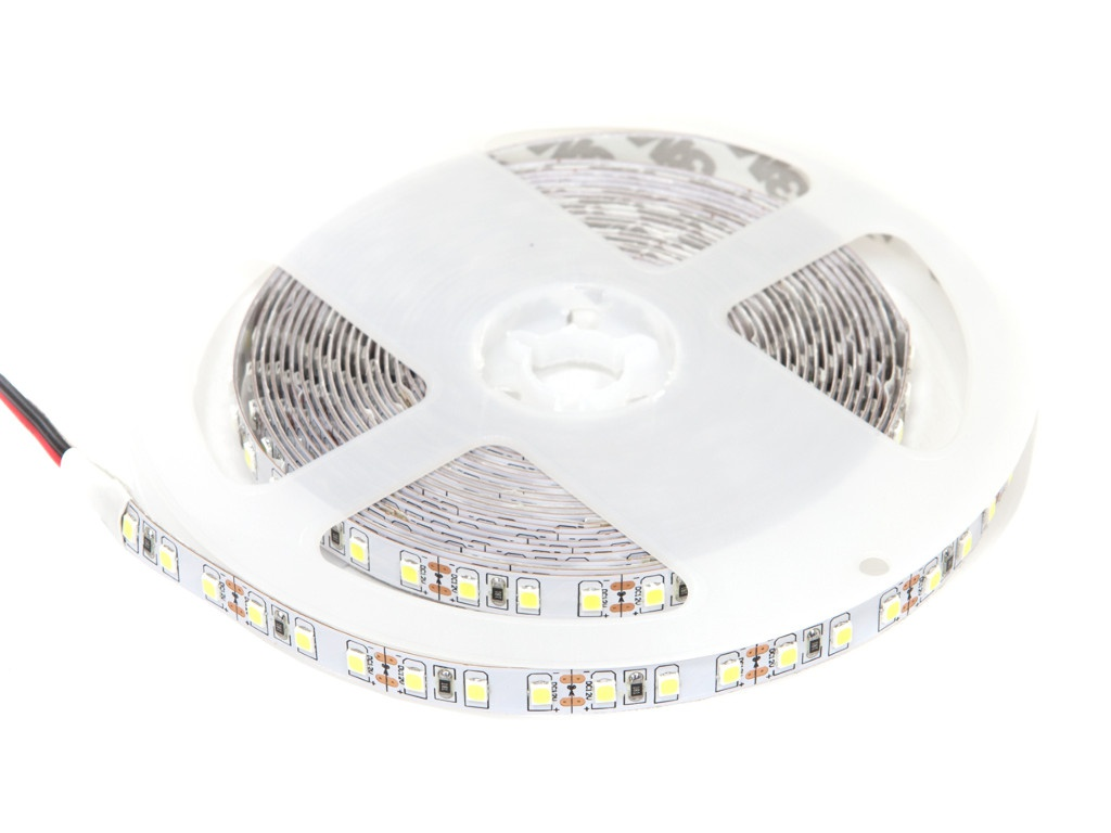 Светодиодная лента ELF 600SMD 12V 5m IP 33 10000-12000К Cold White ELF-600SMD2835NWcw11000
