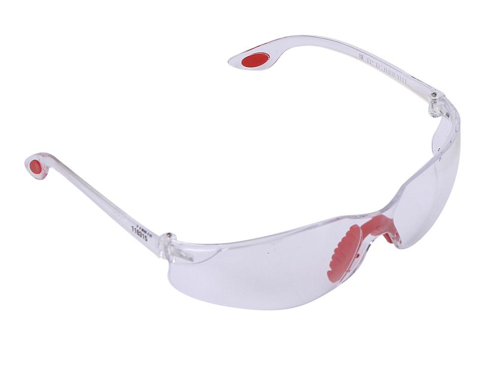 Очки защитные Зубр Спектр 3 Transparent 110315