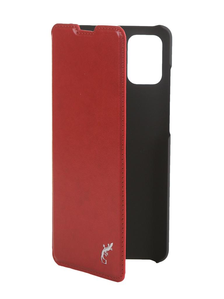 Чехол G-Case для Samsung Galaxy A51 SM-A515F Slim Premium Red GG-1214 чехол g case для samsung galaxy a30 sm a305f a20 sm a205f slim premium red gg 1101