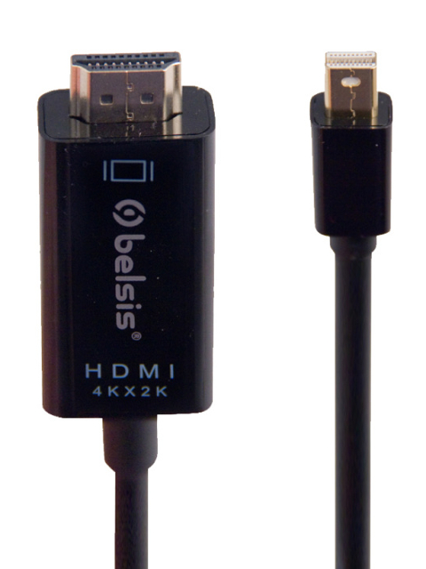 Аксессуар Belsis Display Port - HDMI 1.8m Black BW8803
