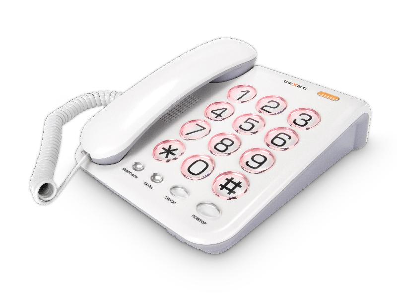 Телефон teXet TX-262 телефон
