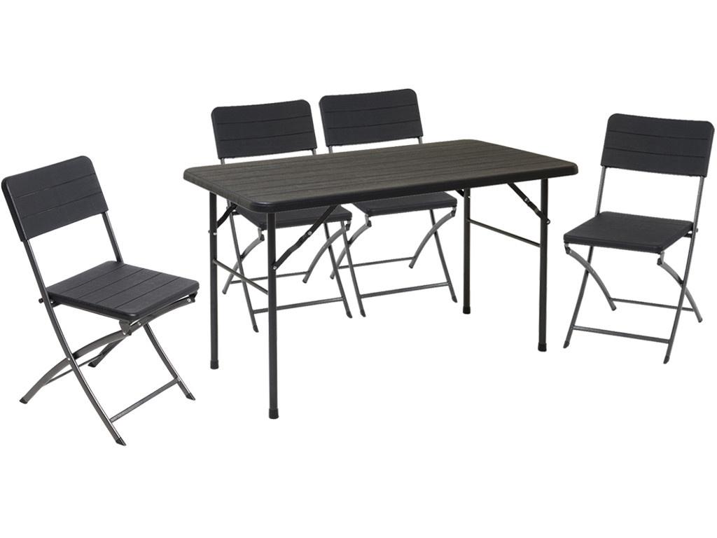 Набор складной мебели Go Garden Miramar (стол, 4 стула)