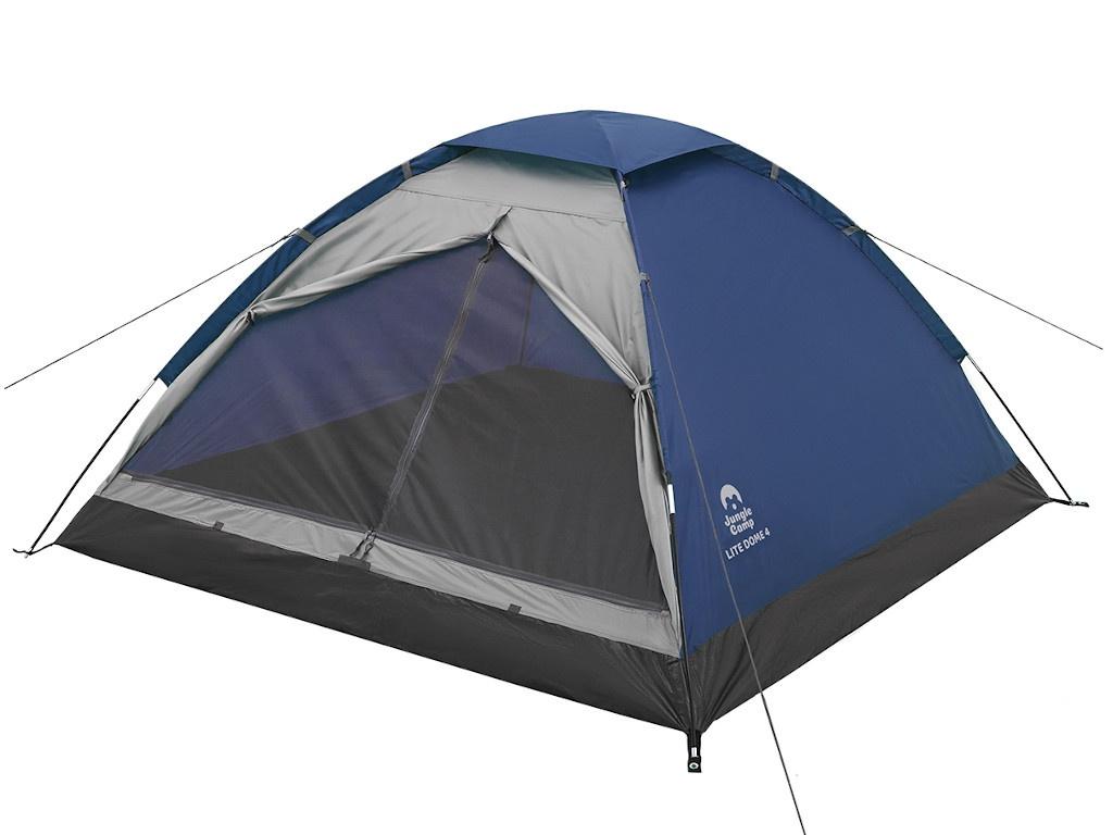 Палатка Jungle Camp Lite Dome 4 Blue-Grey