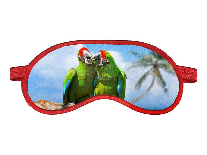 Маска для сна RATEL Animal Green Parrot One Size