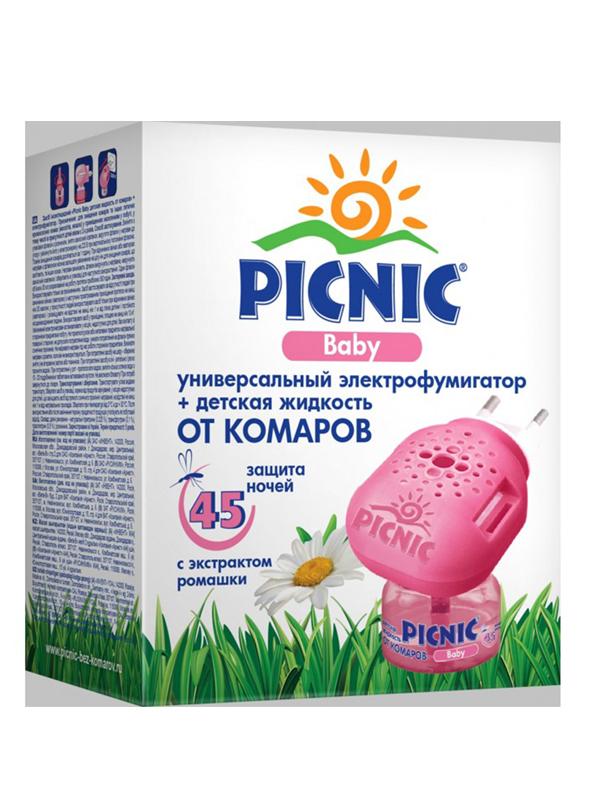Средство защиты от комаров Picnic Baby Электрофумигатор + 30ml 46 00104 02311 8 м