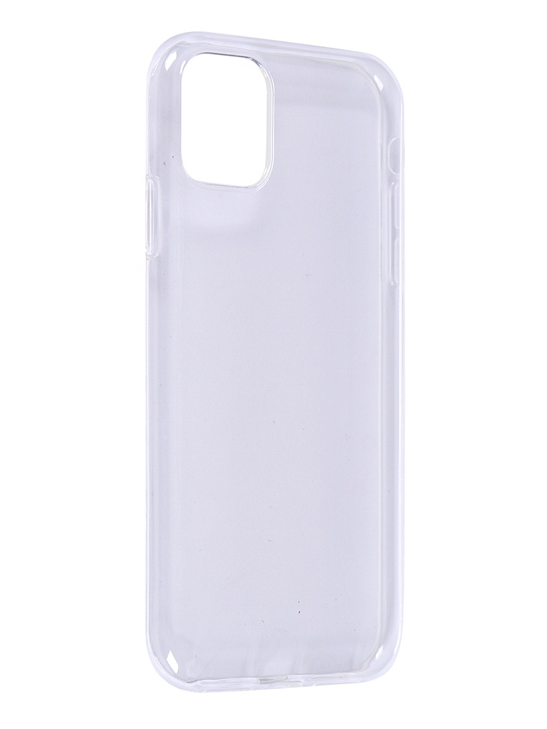 Чехол iBox для APPLE iPhone 11 Crystal Silicone Transparent УТ000018379