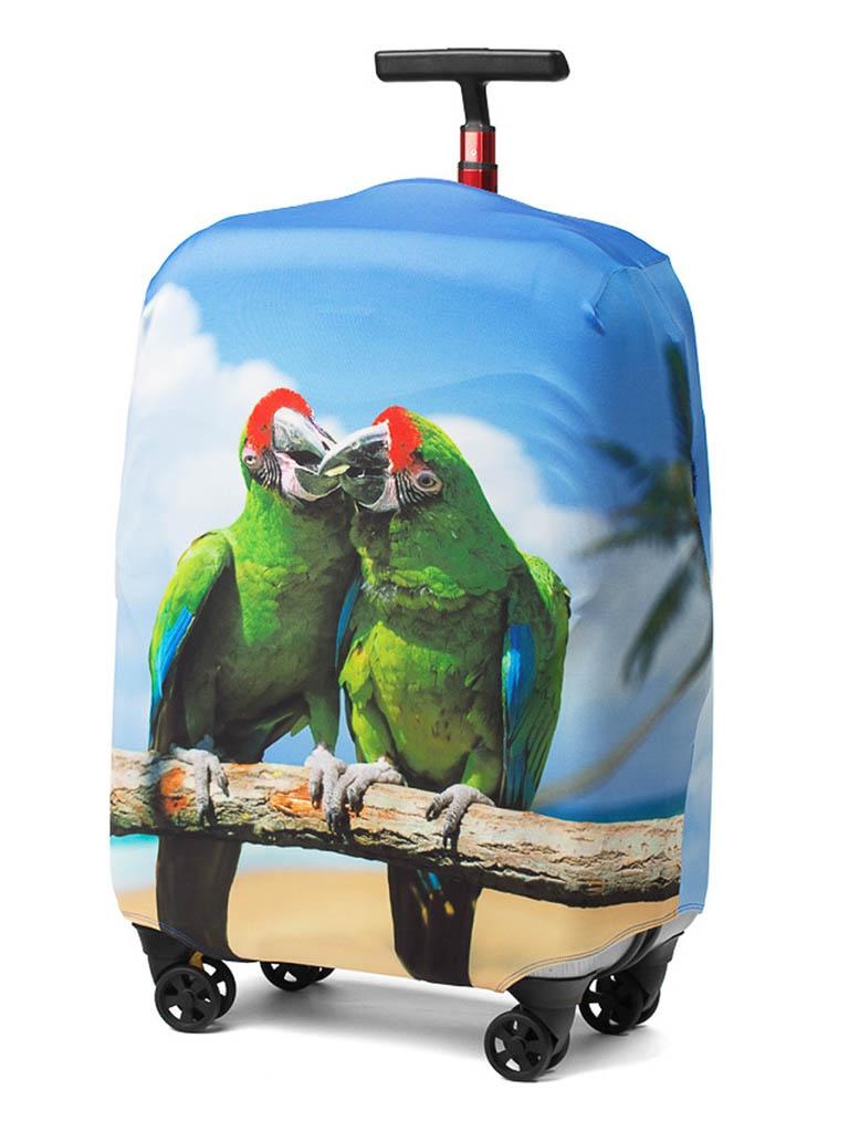 Чехол для чемодана RATEL Animal размер L Green Parrot