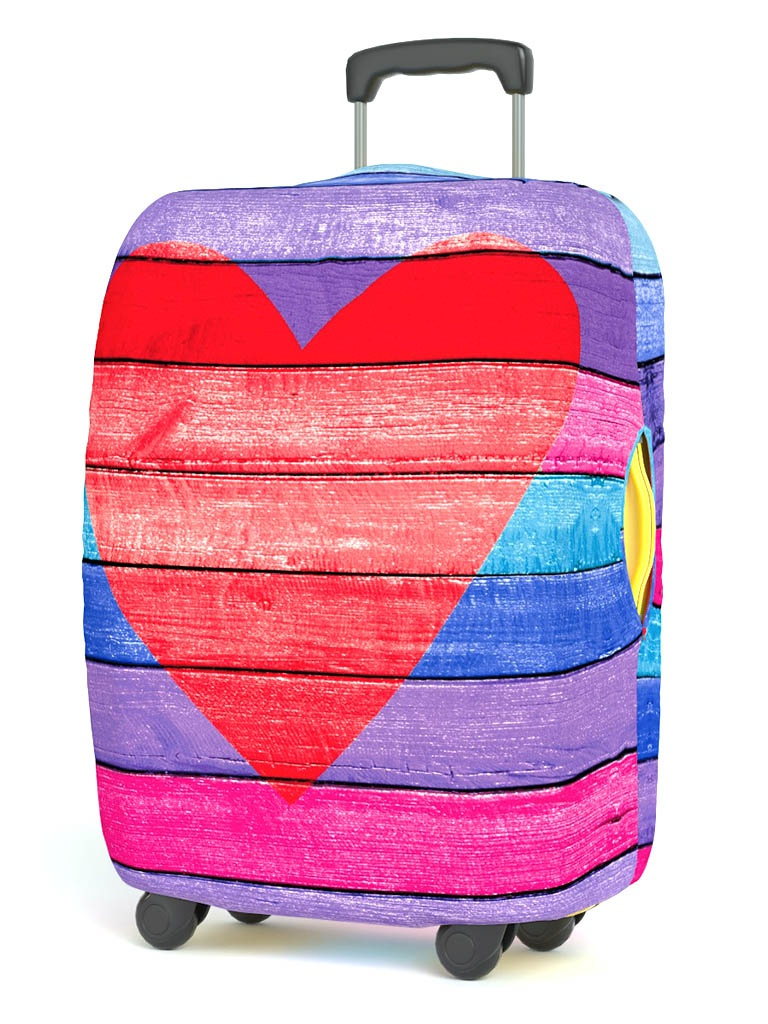 Чехол для чемодана RATEL Neoprene Happy Valentines Day размер M Heart