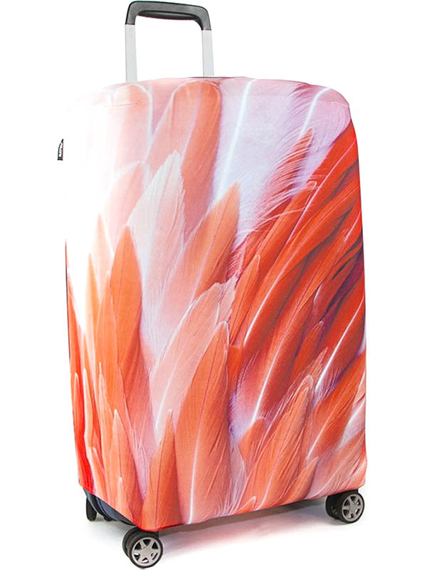 Чехол для чемодана RATEL Animal размер L Pink Flamingo