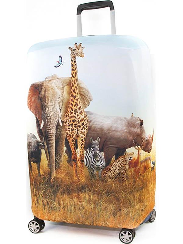 Чехол для чемодана RATEL Animal размер M Madagascar