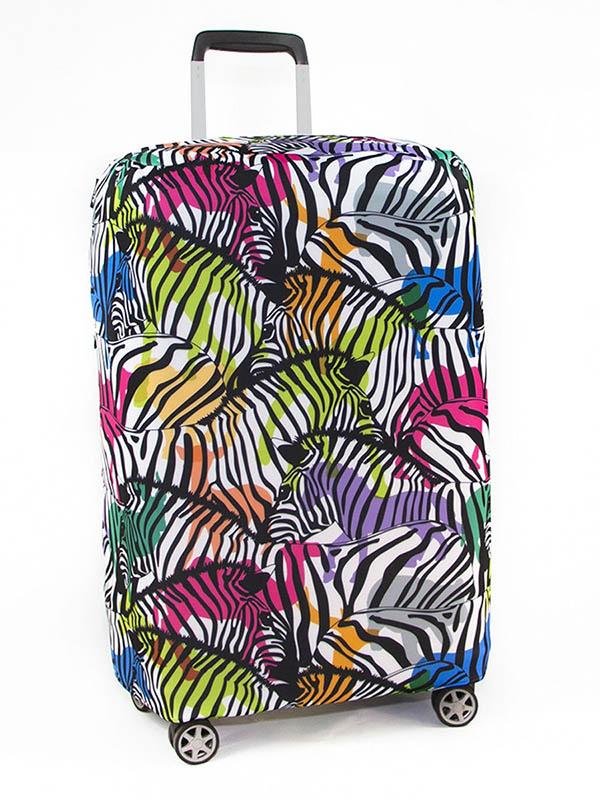 Чехол для чемодана RATEL Neoprene размер M Animal Zebras