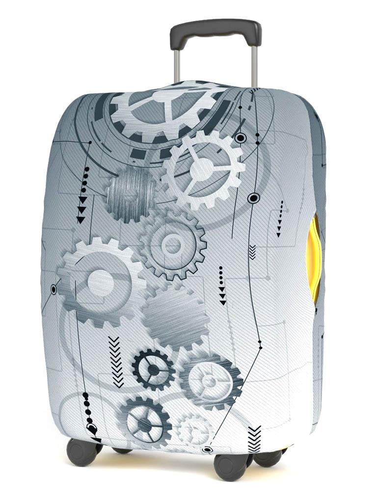 Чехол для чемодана RATEL Art Moments размер M Mechanics