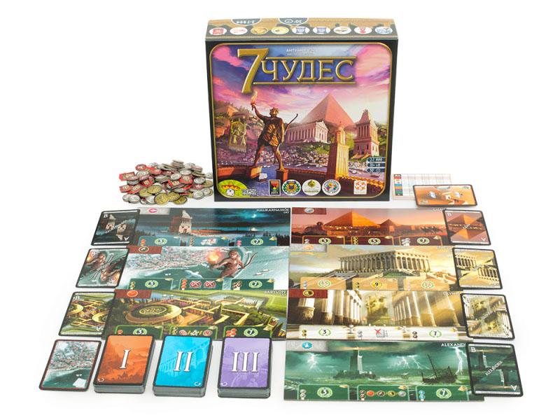 Настольная игра Asmodee 7 чудес БП000008280