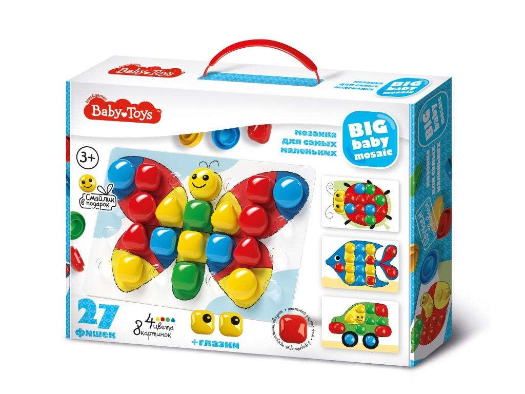 Настольная игра Десятое Королевство Мозаика Baby Toys 27 элементов 02520