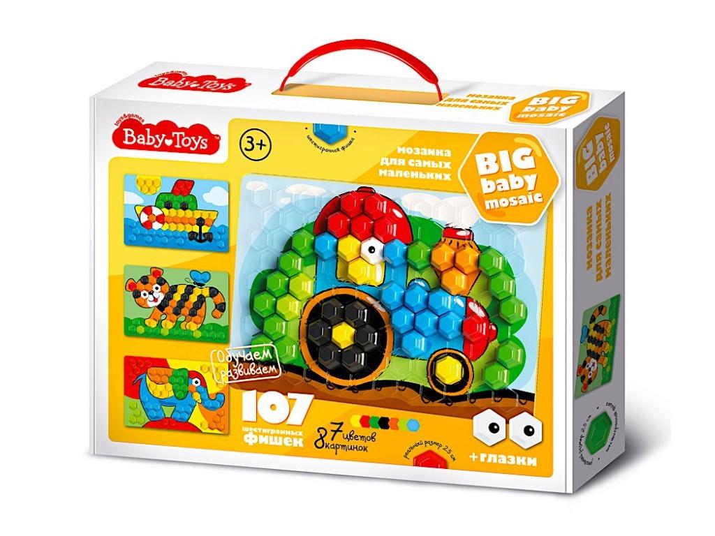 Настольная игра Десятое Королевство Мозаика Baby Toys 107 элементов 02519