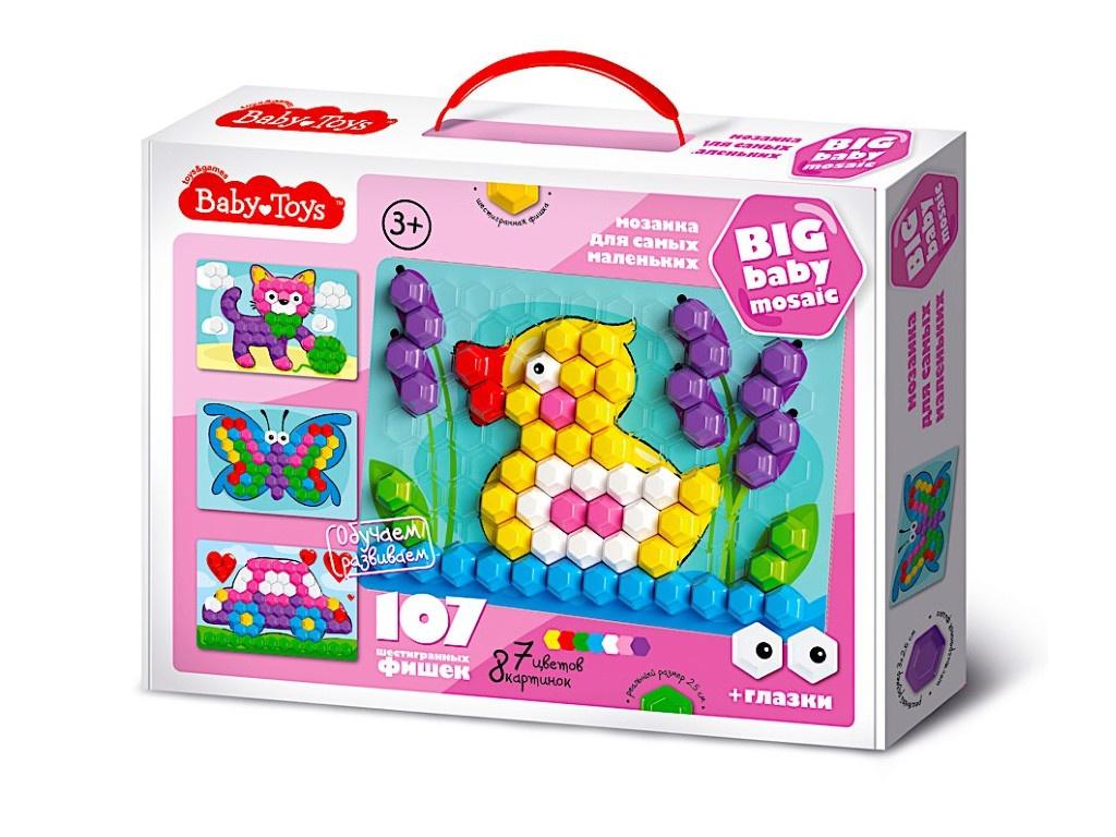 Настольная игра Десятое Королевство Мозаика Baby Toys 107 элементов 02518