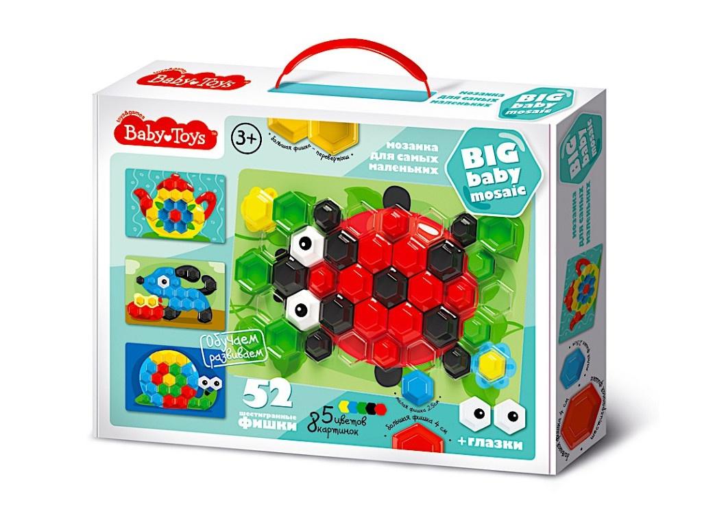 Настольная игра Десятое Королевство Мозаика Baby Toys 52 элемента 02517