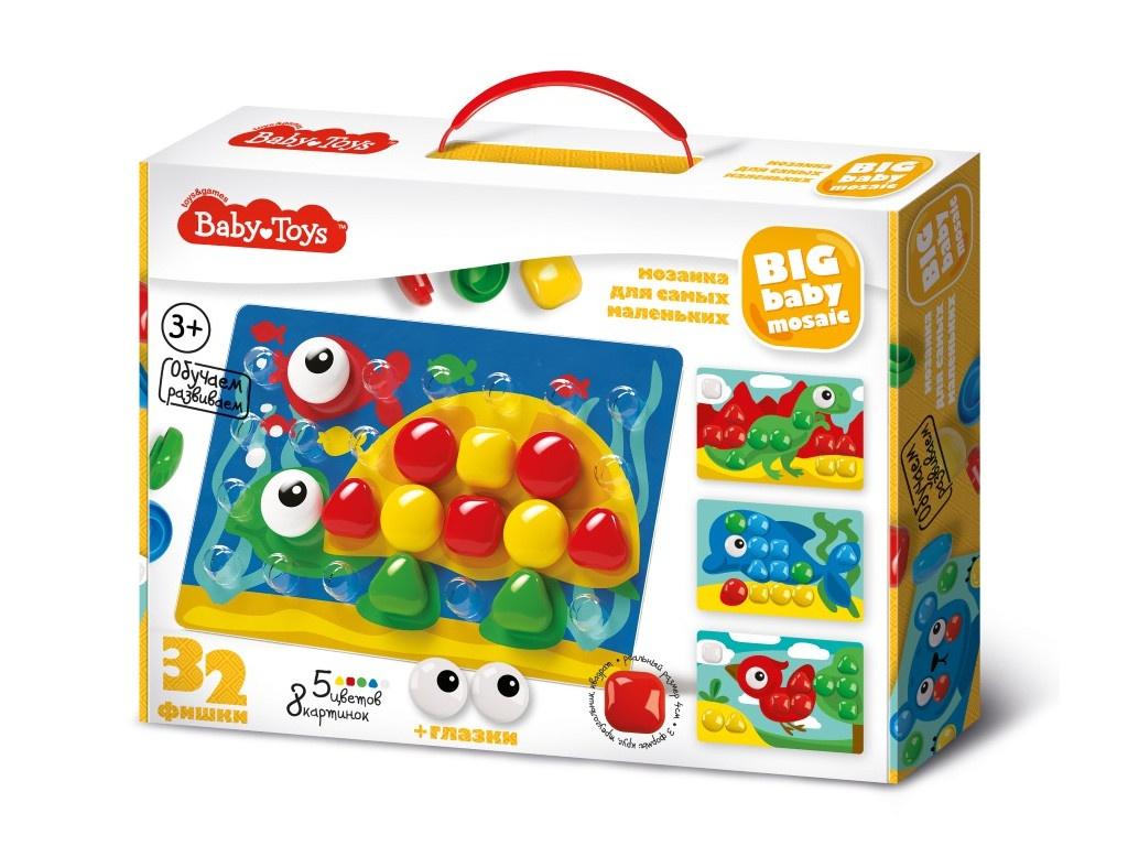 Настольная игра Десятое Королевство Мозаика Baby Toys 32 элемента 02522