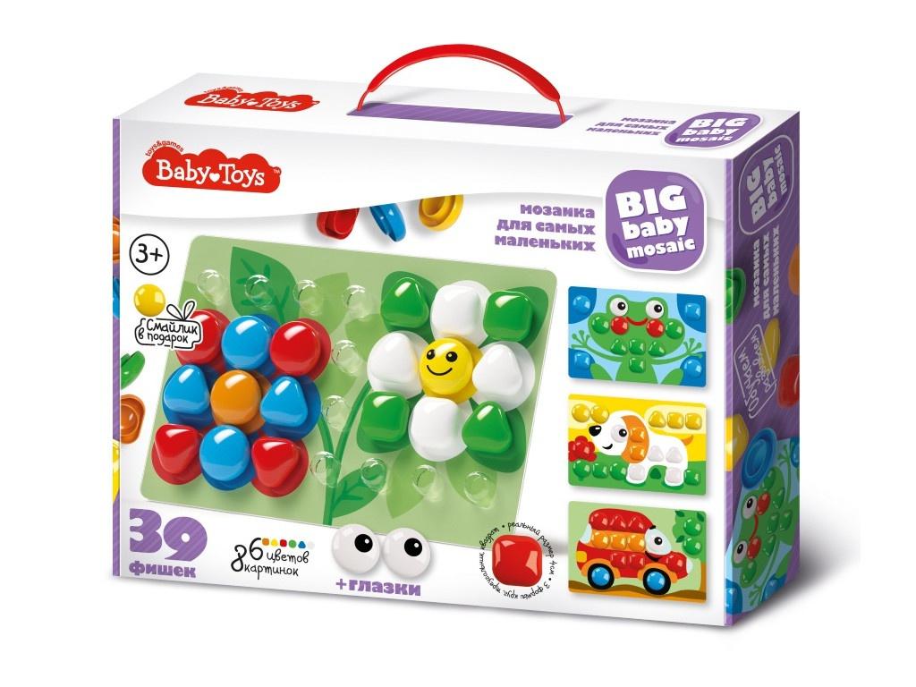 Настольная игра Десятое Королевство Мозаика Baby Toys 39 элементов 02523