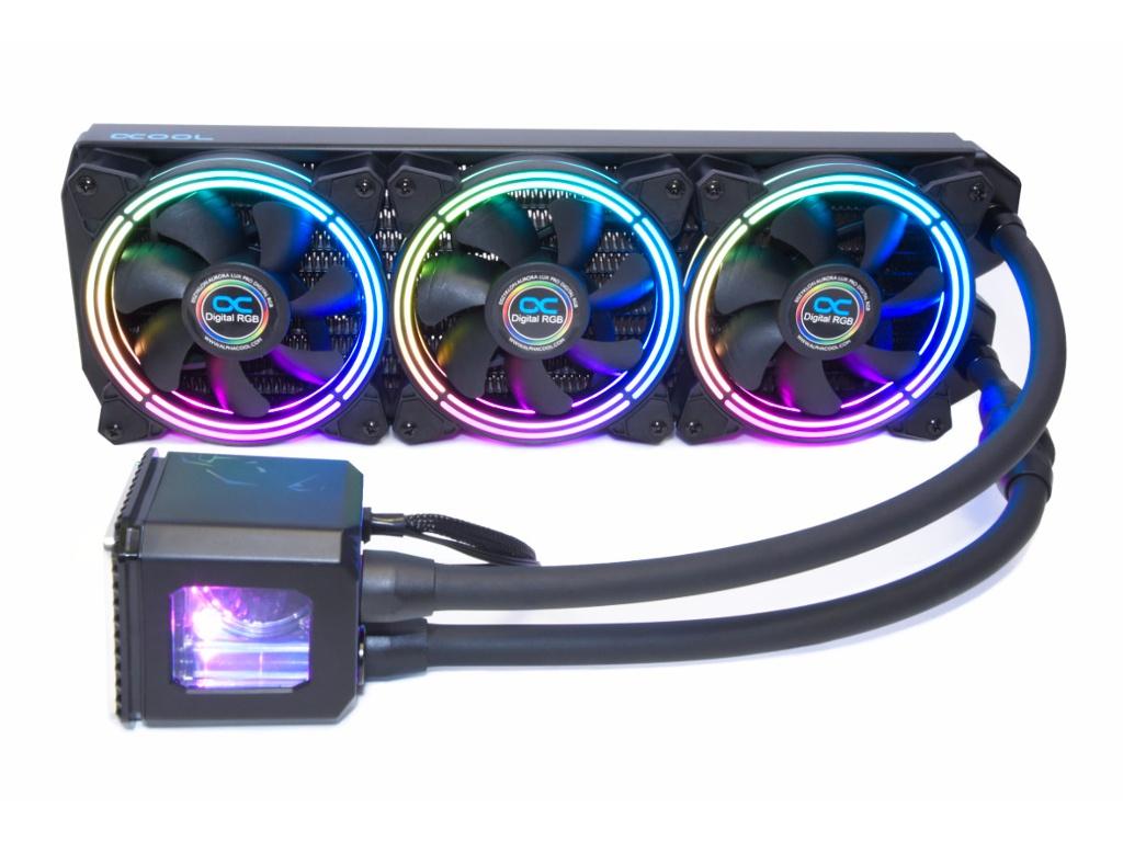 Водяное охлаждение Alphacool Eisbaer Aurora 360 Black 11730/1016664