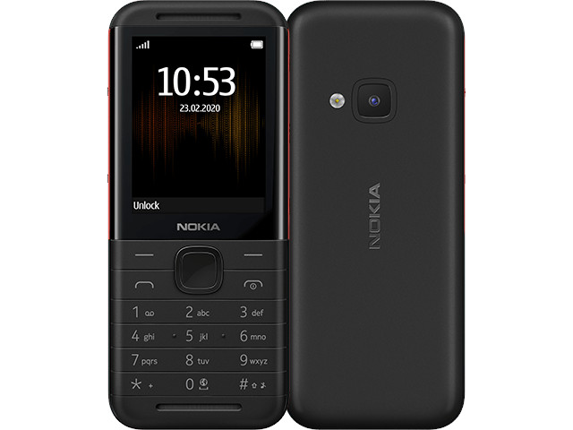 Сотовый телефон Nokia 5310 (2020) Dual Sim Black-Red