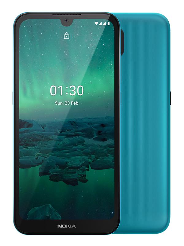 Сотовый телефон Nokia 1.3 1/16Gb Cyan Green
