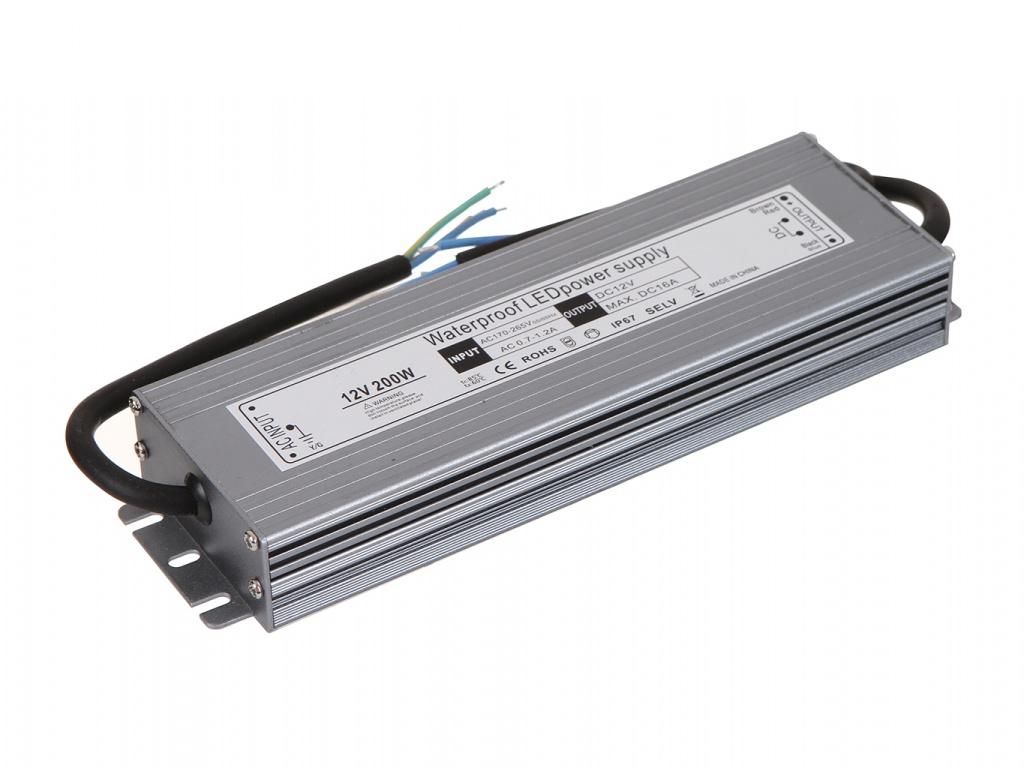 Блок питания URM SLS-N-200W 12V 16.6A IP67 С10398