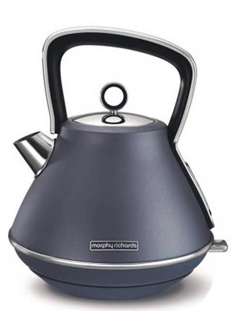Чайник Morphy Richards Evoke Pyramid Steel Blue 100102EE
