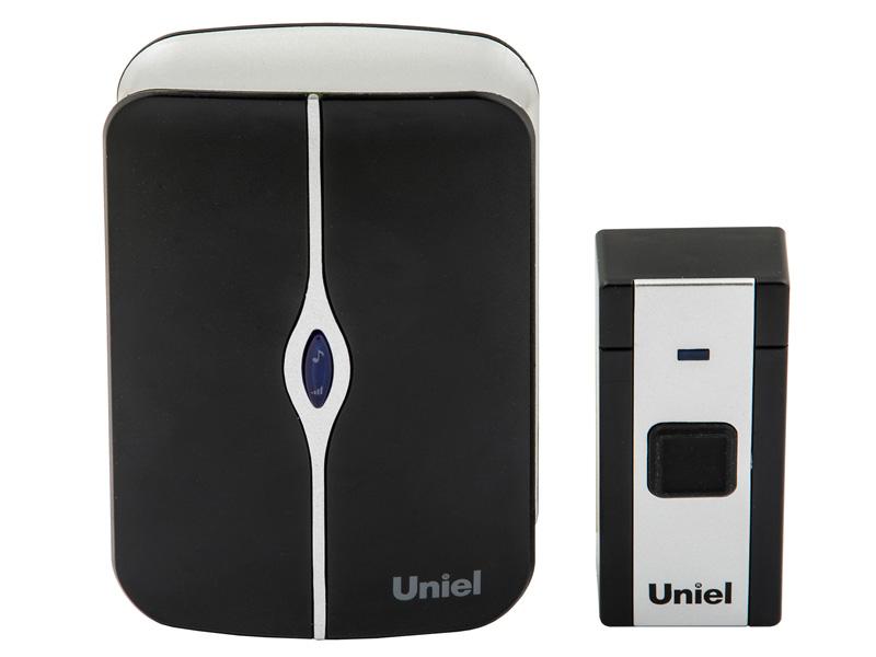 Звонок дверной Uniel UDB-093W-R1T1-36S-BL/WH