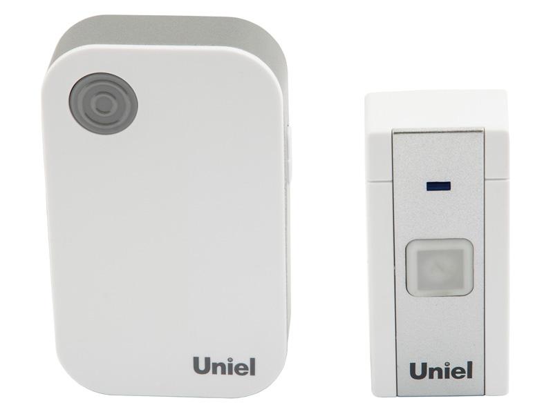 Звонок дверной Uniel UDB-013W-R1T1-36S-100M-WH
