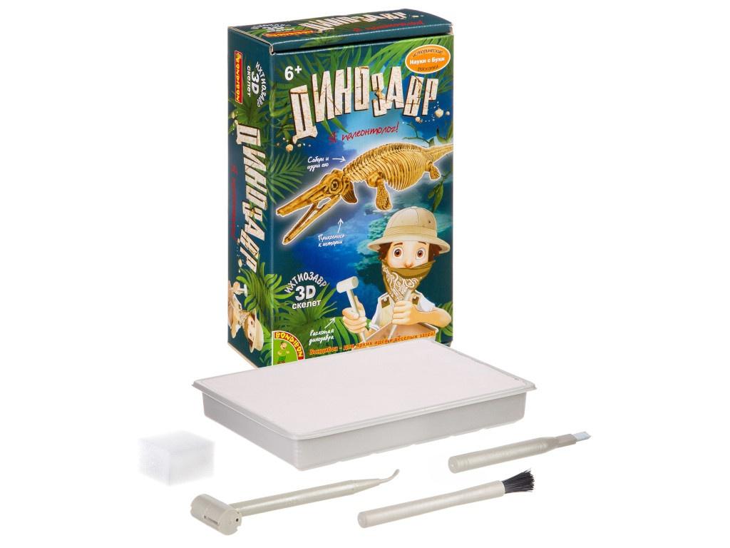 Игра Bondibon Исторические раскопки Науки с Буки Ихтиозавр ВВ4204