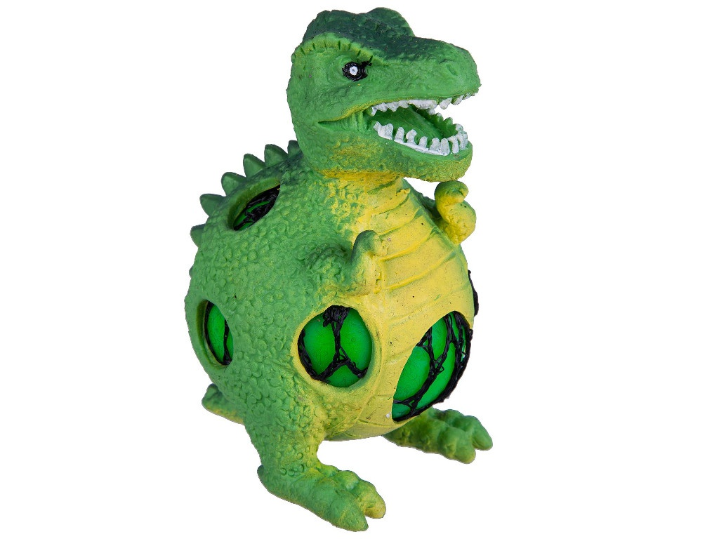 Игрушка антистресс Bondibon Чудики Динозавр Тиранозавр ВВ3038