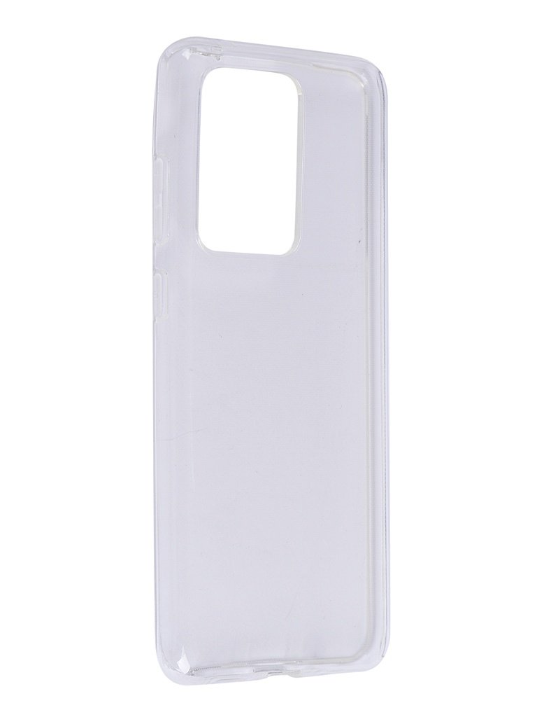 Чехол Brosco для Samsung Galaxy S20 Ultra Silicone Transparent SS-S20U-TPU-TRANSPARENT