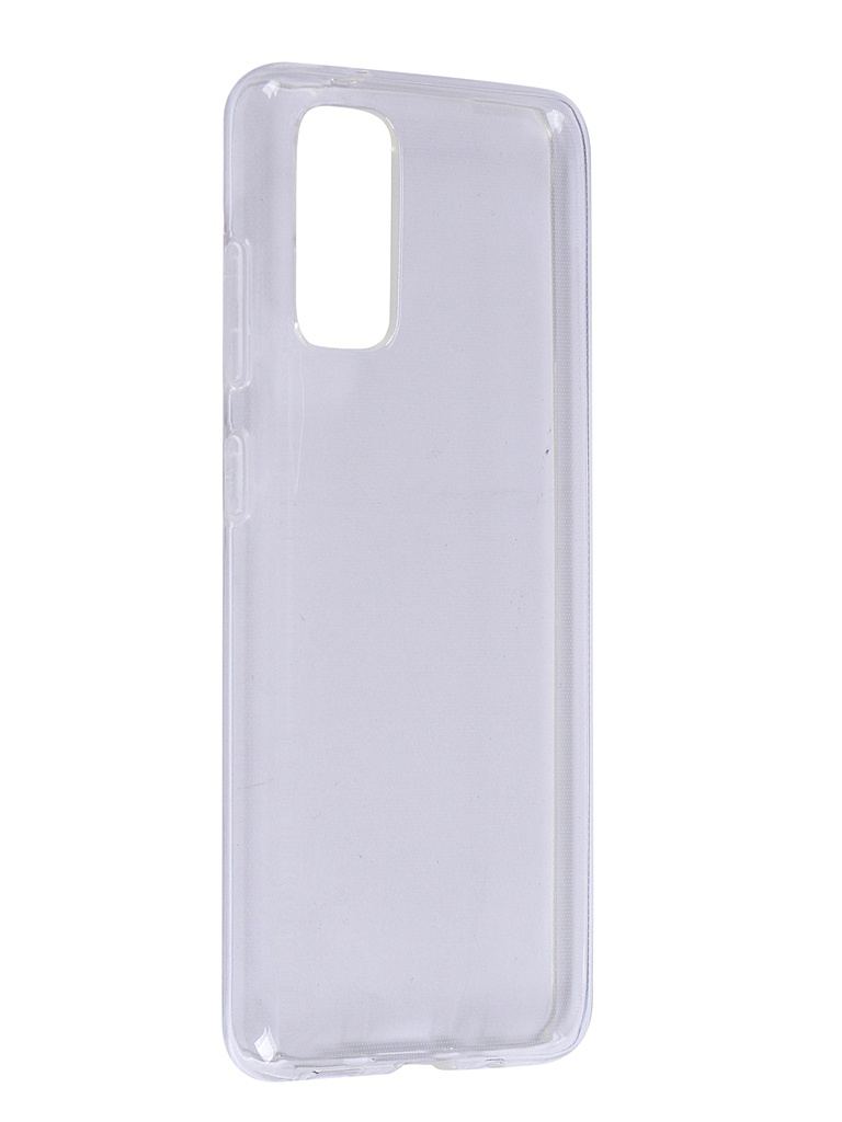 Чехол Brosco для Samsung Galaxy S20 Silicone Transparent SS-S20-TPU-TRANSPARENT