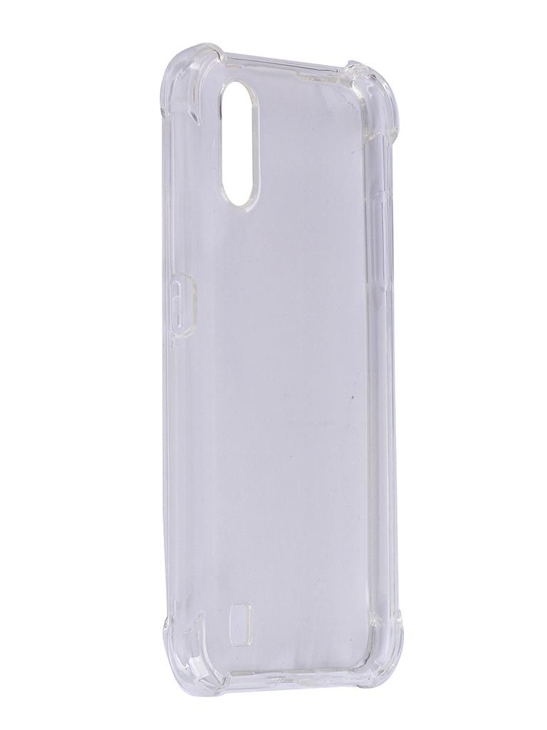 Чехол Brosco для Samsung Galaxy A01 TPU Transparent SS-A01-HARD-TPU-TRANSPARENT