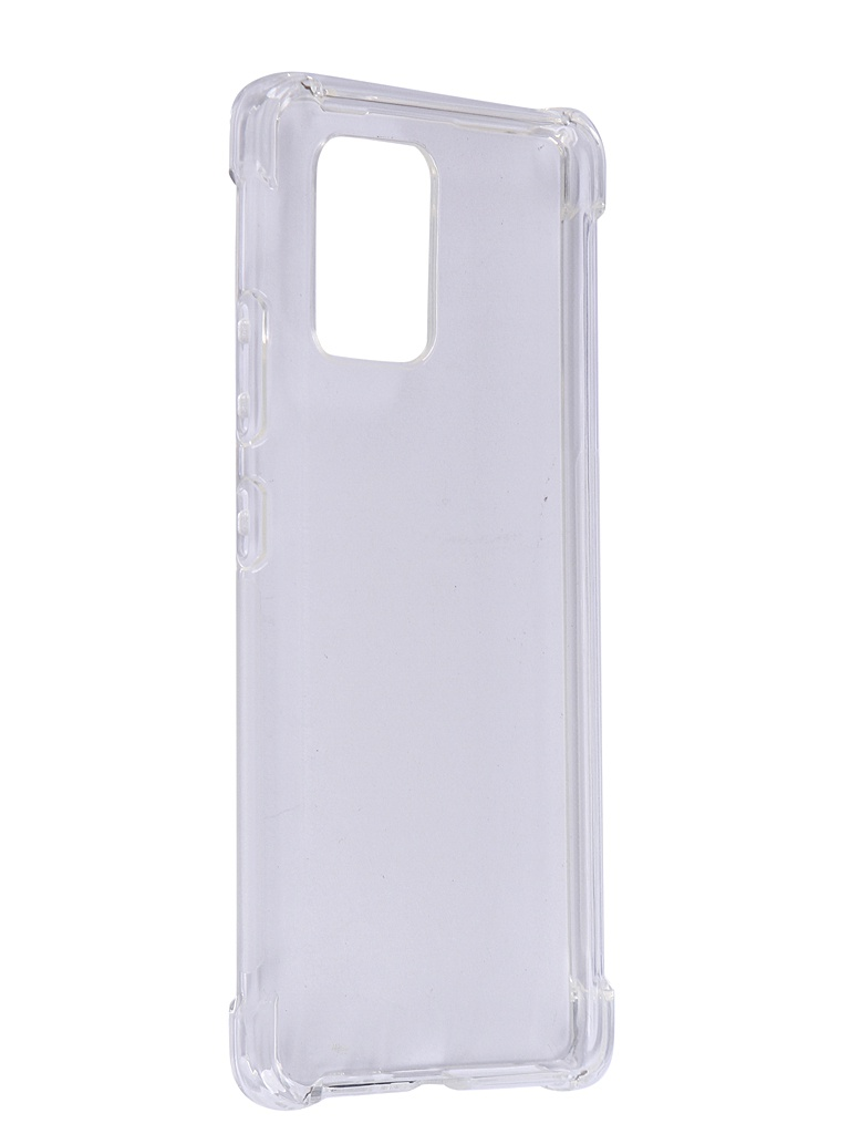 Чехол Brosco для Samsung Galaxy S10 Lite TPU Transparent SS-S10L-HARD-TPU-TRANSPARENT