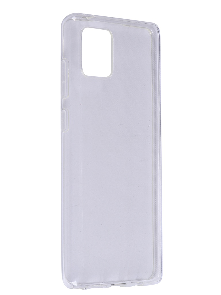 Чехол Brosco для Samsung Galaxy Note 10 Lite Silicone Transparent SS-N10L-TPU-TRANSPARENT