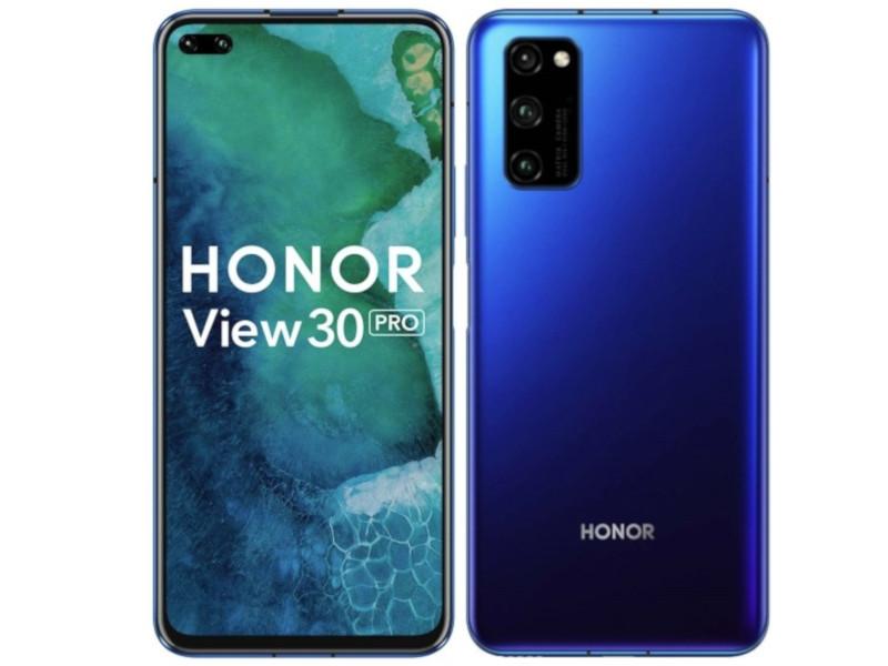 Сотовый телефон Honor View 30 Pro 8/265Gb Ocean Blue