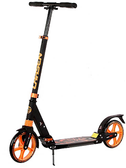 Самокат Larsen Force 20 Black-Orange 360322