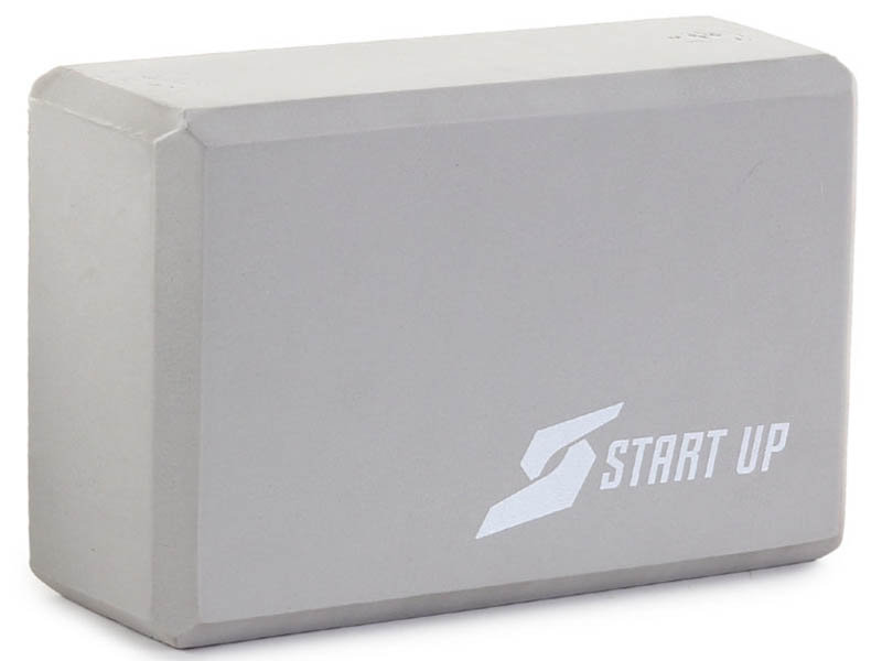 Блок для йоги Start Up EG01 Grey 361221
